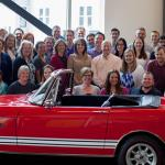Participants in Hagerty Employee Restoration Program; 1967 Sunbeam MkII