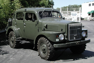 Collector Military Vehicle Insurance Program Qualifications
