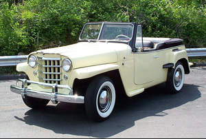 1950 Willy's Jeepster