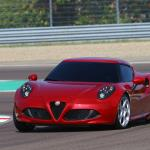 2014 Alfa Romeo 4C (photo Courtesy of Fiat)