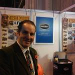 Chris Barrie who was on the Hagerty stand for most of Friday entertaining the masses.