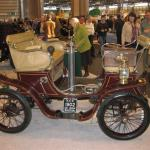 1902 De Dion vis-a-vis (passengers faced the driver) in veteran display.