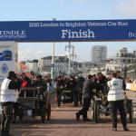 A mid-afternoon mass finish on Brighton Promenade.