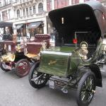A Pierce Stanhope on Regents Street in London before the event.