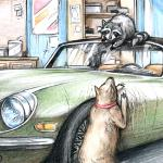 If you insist on making the garage a doghouse, find another home for your other pet – your collector car.