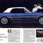 Ford Mustang Advertisement 1964