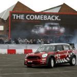The new Mini John Cooper Works WRC car
