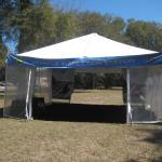 HVA scrutineering tent