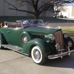 1937 Packard 115C rumble seat roadster
