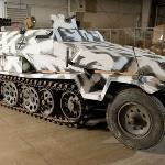 1940-41 Hanomag S.P.W. Ausf. C SdKfz 2511 Armored 34-Track - Demilitarized