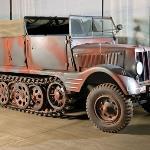 1942 Borgward H kl 6 Half-Track Tractor