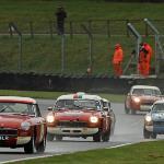 MG race at Mallory Park