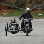 Motorcycle w/ Sidecar