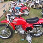Rickman trials bike