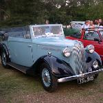 1935 Vauxhall DX 14 Tickford convertible