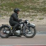 1935 BMW R4 single is piloted sedately by Alfsonso d'Aloia