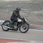 Michel LePage on his 1935 Norton 18 gets down to business.