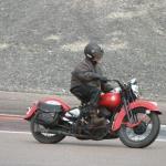 1941 Harley-Davidson.