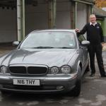 Nigel Thorley of the Jaguar Enthusiasts' Club