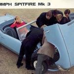Triumph Spitfire ad