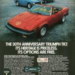 Triumph TR7 ad