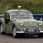 Apple Green Triumph TR3