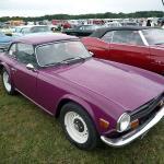 Magenta Triumph TR6