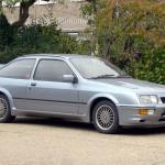 Early hatchback Ford Sierra RS Cosworths are now rare