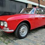 coupe showdown, alfa romeo 2000 gtv