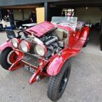 Roger Buxton's superb 1930 Zagato- bodied Alfa Romeo 6C Spider.