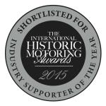 Hagerty shortlisted in the International Historic Motoring Awards