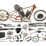 One of the two Brough Superior SS100 projects that sold for a combined total of just under £500,000.