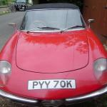 1971 Alfa Spider 2000 Front