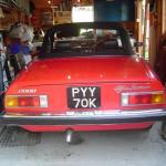 1971 Alfa Spider 2000 Rear
