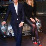 Channel 5 Classic Car Show Jodie Kidd and Quentin Willson