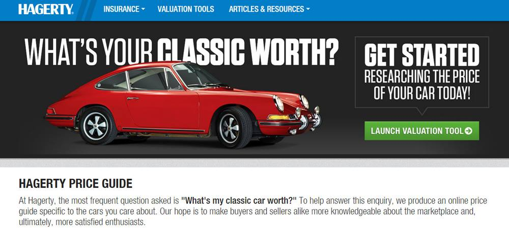 Hagerty Valuation Tool >> Hagerty Valuation Tools Classic Car Values Hagerty Articles