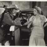 Gary Cooper and Marlene Dietrich in the film Morocco