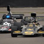 Lotus Cosworth 72 and Shadow DN3