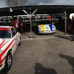 The Porsche Aldington Trophy paddock