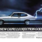 The 1981 Ford Capri 2.8i