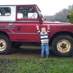 Nathan Arthur and the Red Land Rover