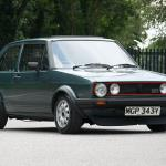 1981 UK- market VW Golf Mk 1