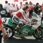 Joey Dunlop from Ballymoney, Co Antrim