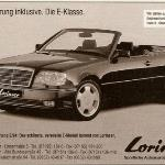 Mercedes-Benz W124 Convertible