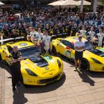 Corvettes at Le Mans