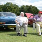 Morris Marina with Eamon and Sid Fountain