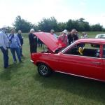 Hillman Minx with Patricia and Graham Penman.