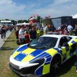McLaren 650S in Battenburg Police Colours!