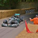 Rosberg Showboating for Marshals