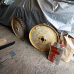 The car now has four matching Bibendum wheels.